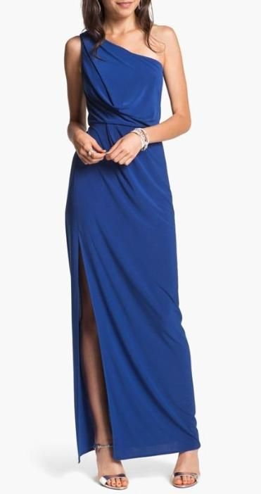 This Classic Cut Dress Is So Elegant Party Time Dresses Gowns