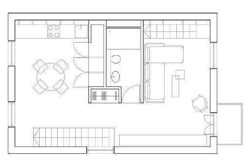 Loft de estilo contemporáneo | mini casa | Pinterest | Estilo ...
