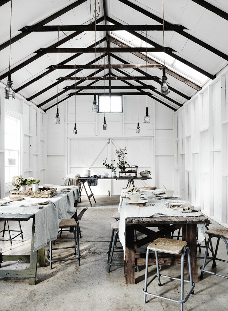 History Lesson: How This Talented Designer Turned an Old Barn Into a Dream Venue