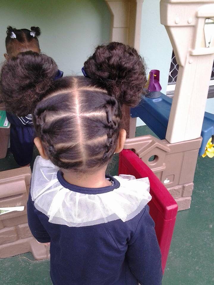 little girls hair style cute
