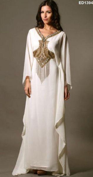 Jilbab Dubai Anarkali Lang Caftan von Kunsthandwerkfüralle auf ...