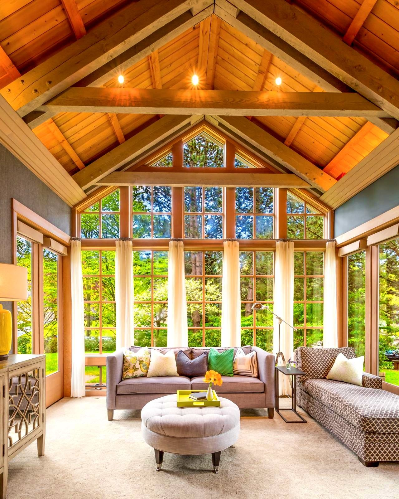 Best Of Winsome Vaulted Great Room Floor Plans Harmony Weihsfamily Friendly Living Lighting Ceiling With Fireplace Pic Great Rooms Wooden Ceiling Design House