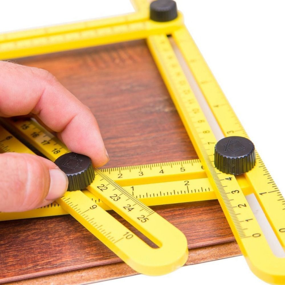 Measuring Instrument Angle-izer Four-Sided Ruler Mechanism Slide Template Tool