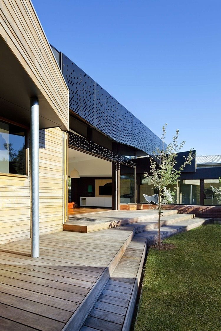 balnarring beach house by simon couchman architects balnarring rh pinterest com