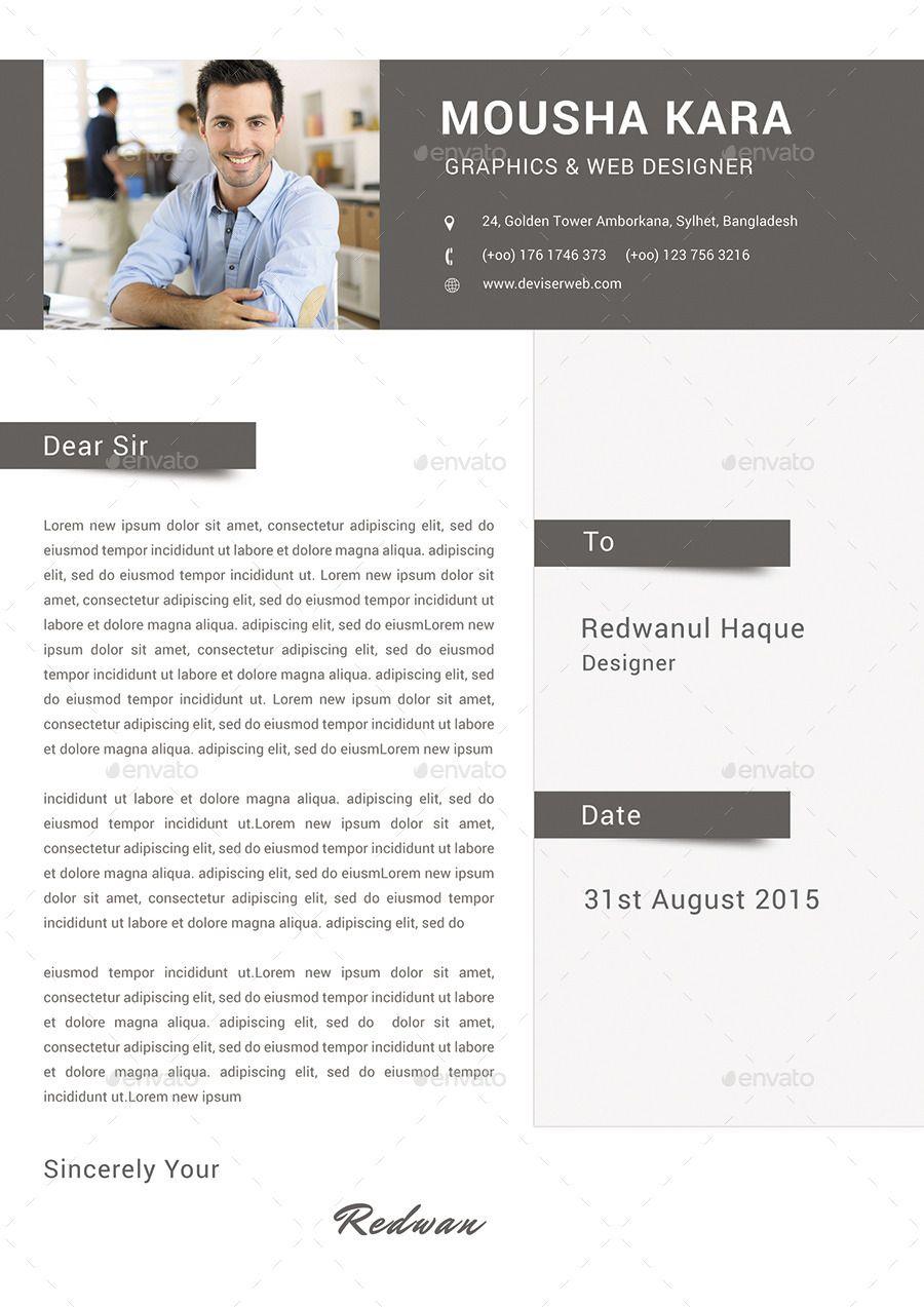 Simple Creative Cv Resume Cover Letter Cv Creative