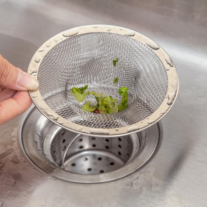 Kitchen Sink Strainers Stainless Steel Basket Drain Protector Kitchen  Colanders And Strainers Levert Dropship 3MAR23