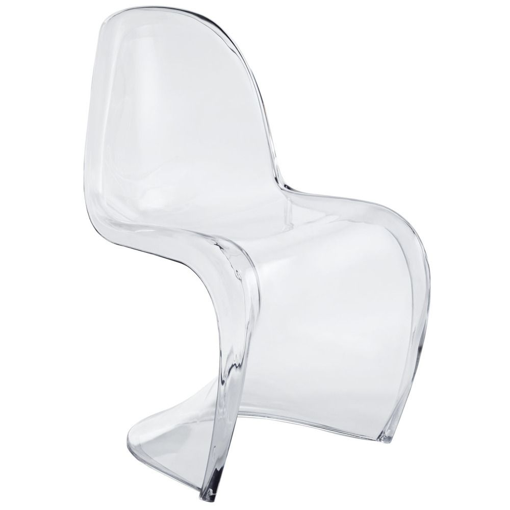 Slither Dining Acrylic Side Chair Modern Way 118 00 Domino