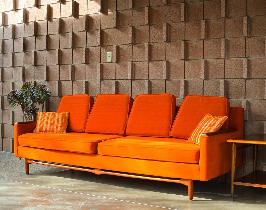 original adrian pearsall sofa new addition to our personal rh pinterest nz