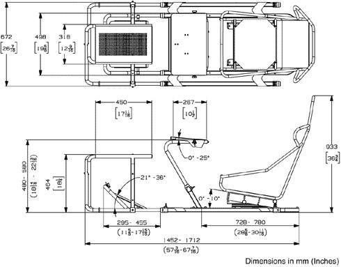 Racing Simulator Chair Plans Surefit Covers Dimensions Gif 490 383 Car Seat In 2019 Pinterest Flight Cockpit Custom