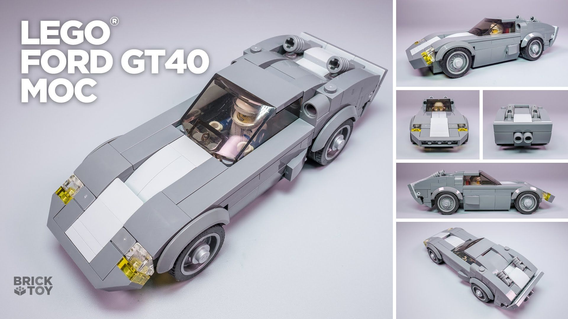 LEGO Ford GT40 Classic MOC [Based on Speed Champions ]