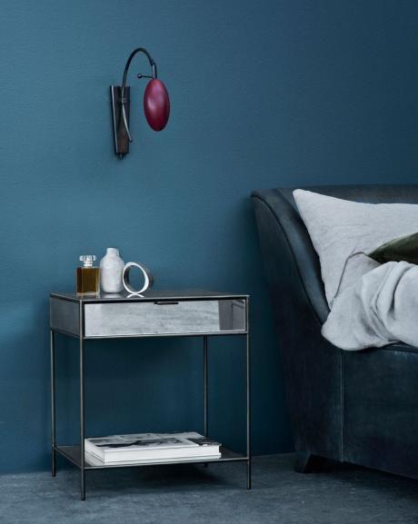 Elegant Schlafzimmer Streichen Mit Wandfarbe Blau Schlafzimmer Inspiration