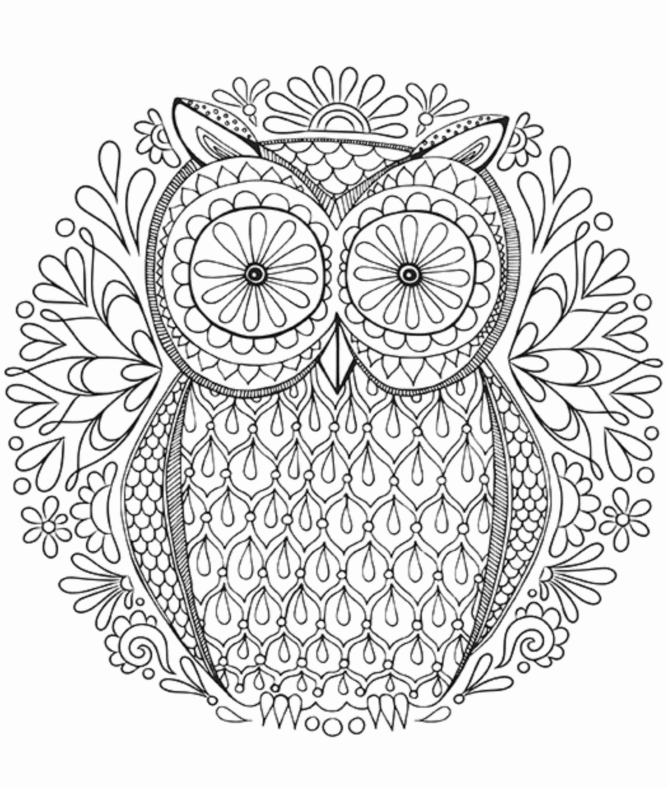Hard Coloring Books Inspirational Hard Coloring Pages For Adults Best Coloring Pages For Kids Owl Coloring Pages Abstract Coloring Pages Animal Coloring Pages [ 3003 x 2551 Pixel ]