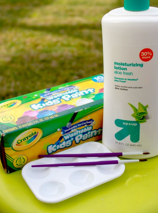 Make Your Own Face Paint Craft Activities For Kids Activities For Kids Kids Playing