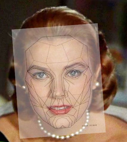 Admirable Beauty Science Grace Kelly The Perfect Face 1950S Makeup Short Hairstyles Gunalazisus