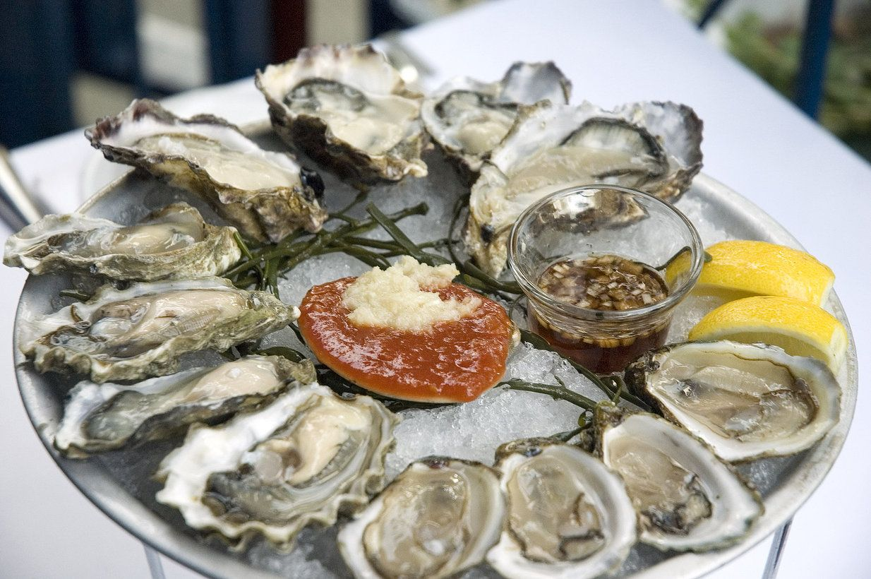 Best oyster selection in NYC - Aqua Grill   Places I've been, places