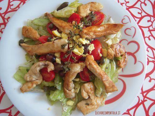 Insalata di pollo - Ricetta insalata di pollo light