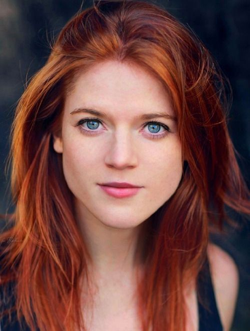 Bright Red Bright Red Hair Rose Leslie Beautiful Redhead