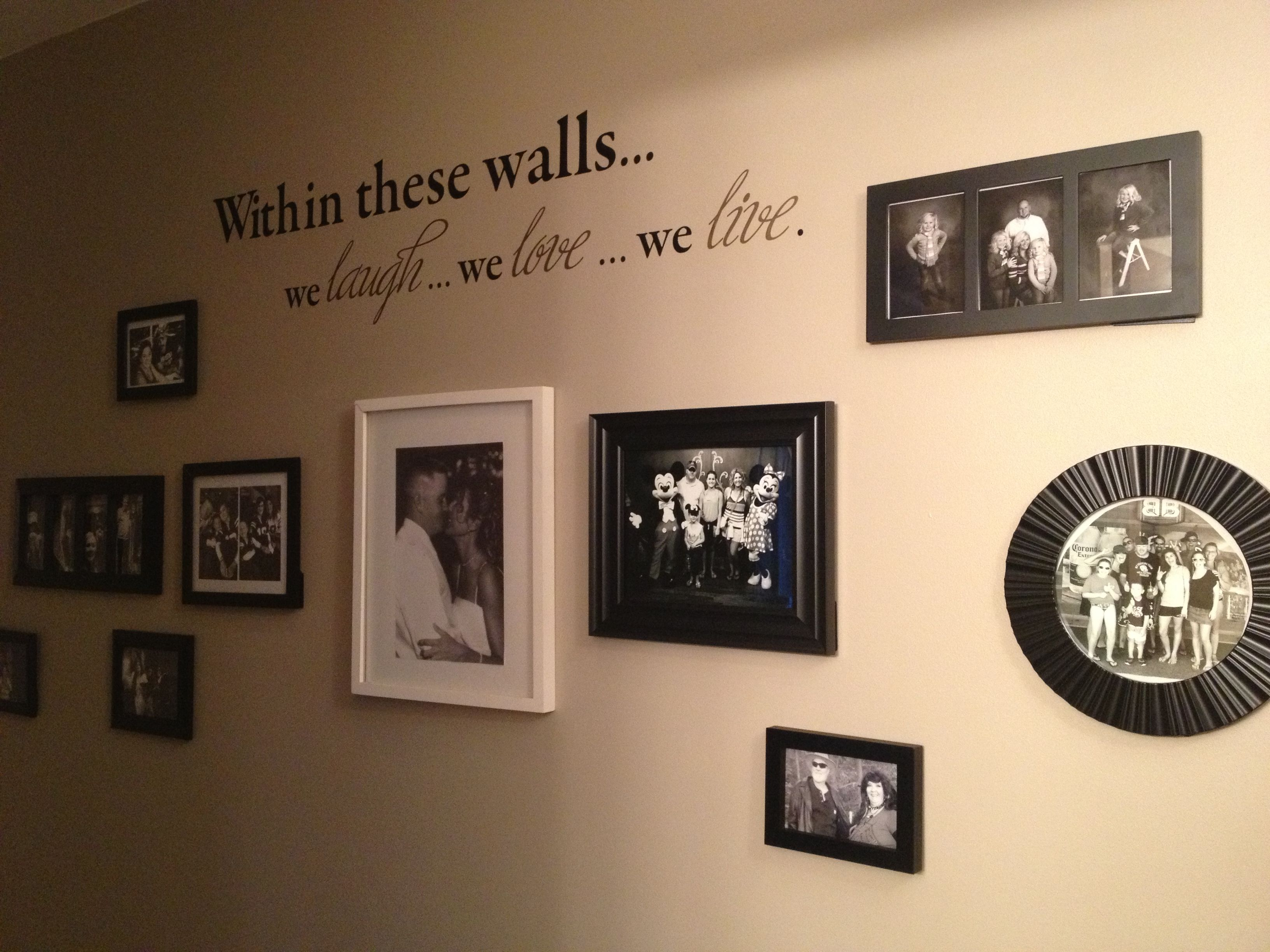 Pinterest Wall Decor: My Latest Pinterest Project!