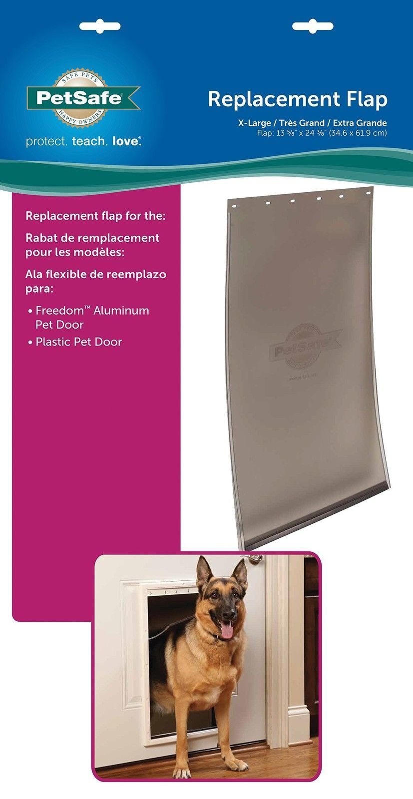 Dog Door Replacement Flap Dog Idea Pinterest Dog