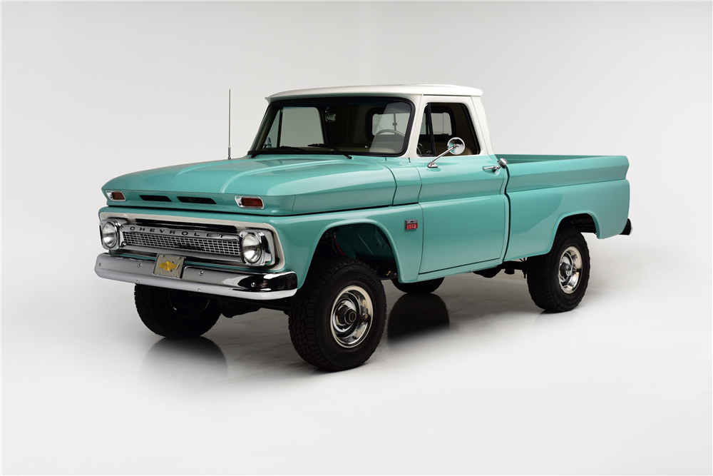 This Particular 1966 Chevrolet K10 Was Built From The Factory As A