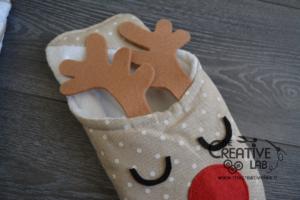 Photo of Pantofole fai da te: tutorial natalizio illustrato per realizzare delle bellissi…