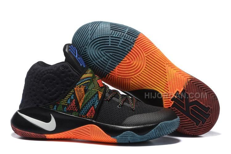 39197043f4e3 Authentic supply Nike Kyrie 2 womens shoes BHM For Sale outlet the world