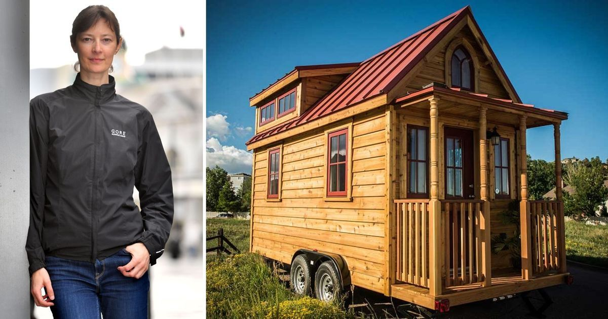 The woman building her dream tiny house for just £10,000 ...