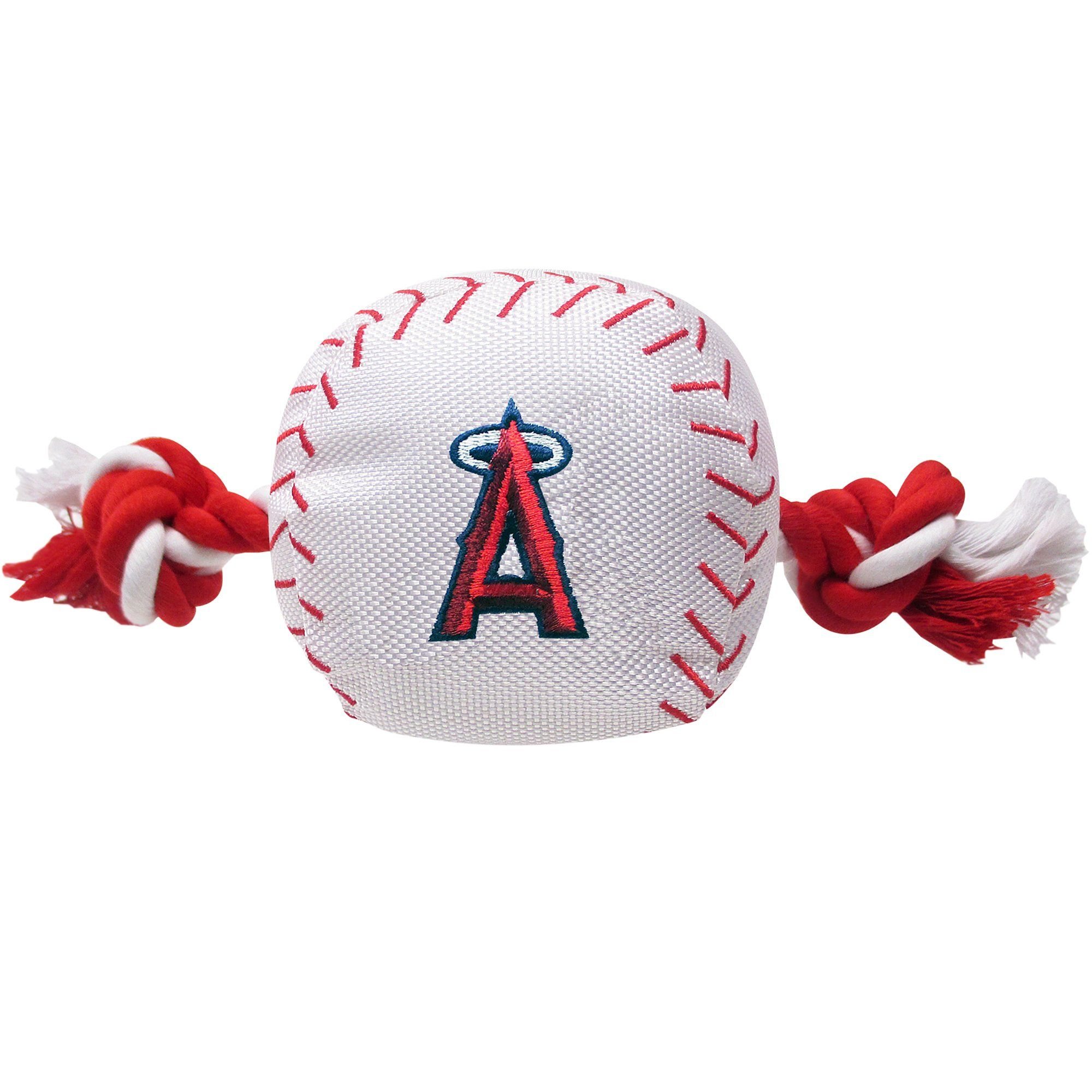 Pets First MLB Los Angeles Angels Baseball Toy, Large in