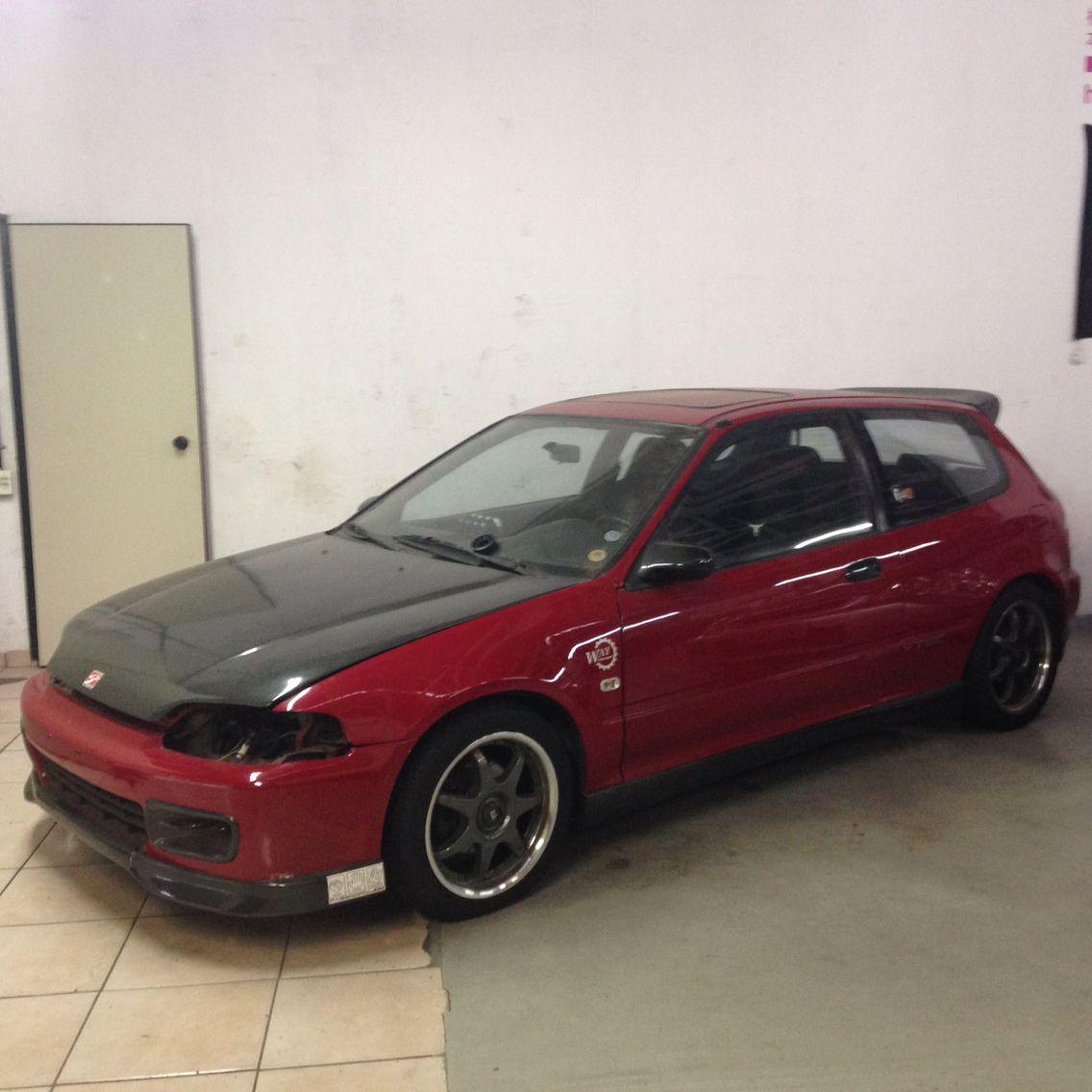 Honda Civic VTI EG6 B16A2 N/A + NOS Auto