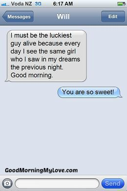 Sweet, Funny & Cute Good Morning Text Messages | Morning