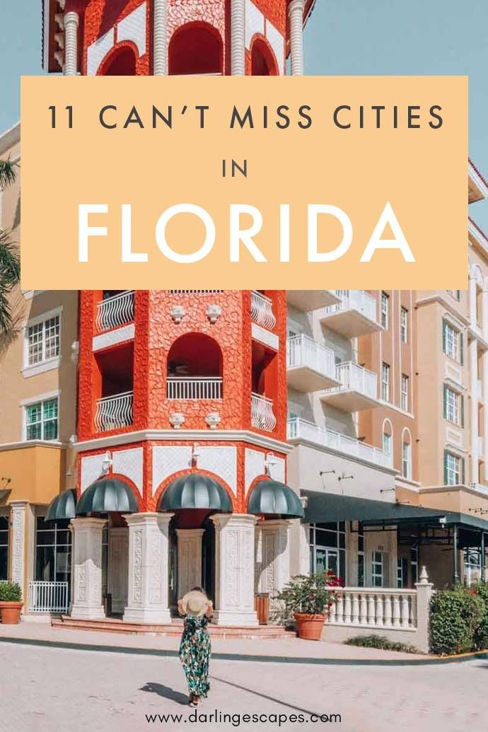 Visiting Florida soon? Here are 11 can't miss destinations in South Florida that you'll love! Our Florida guide includes our favorite things to do in each city and where to stay! #Florida #Visit Florida