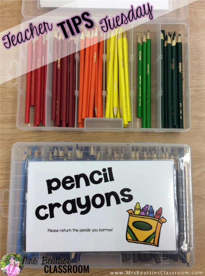 cheap and easy storage hack for colored pencils in your classroom rh pinterest com