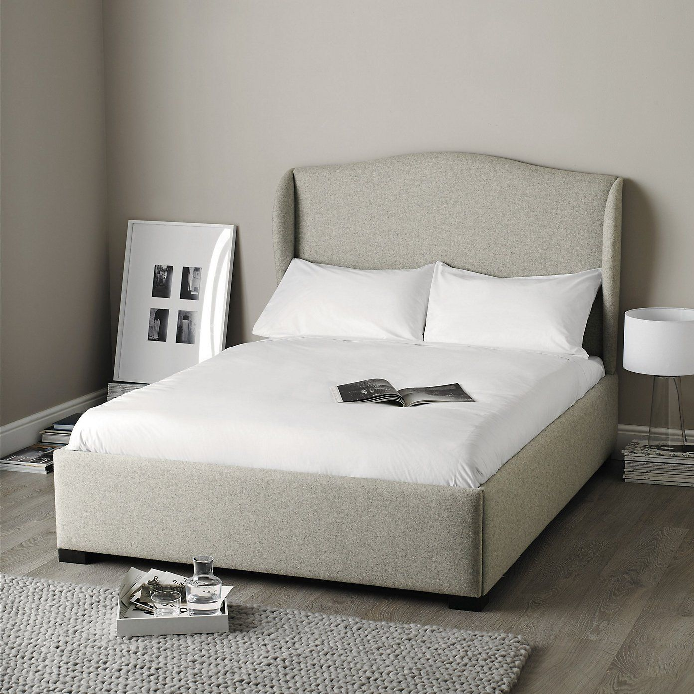 suffolk bed light grey the white company ideeen voor het huis