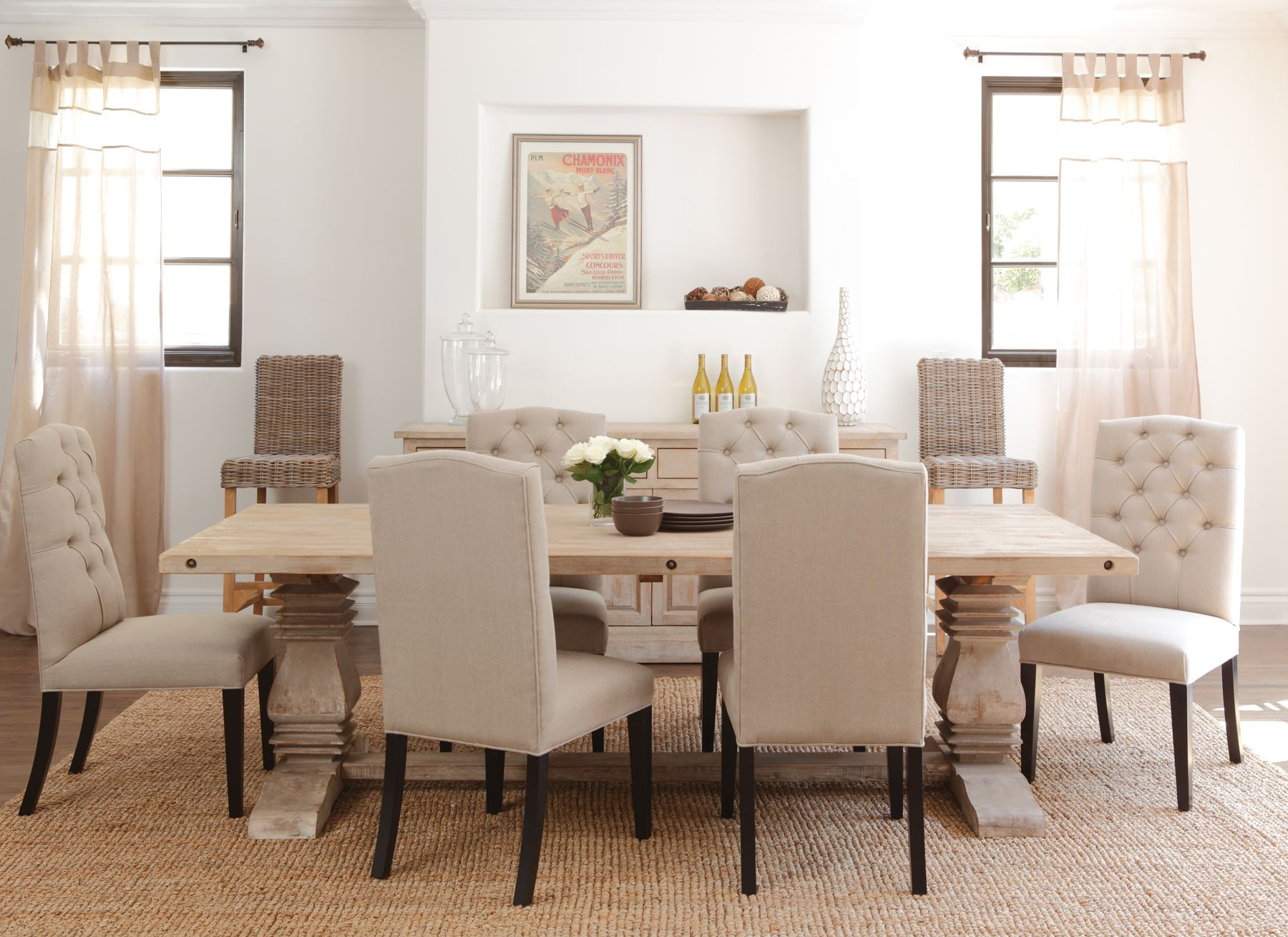 Classic Home Dining Room Essex Table 51007010ELP