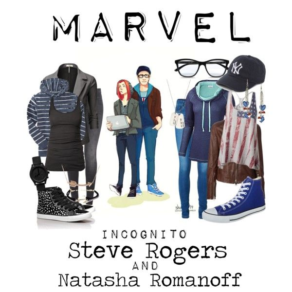 Marvel Incognito Captain America The Winter Soldier Superhero Fashion Casual Cosplay Everyday Cosplay