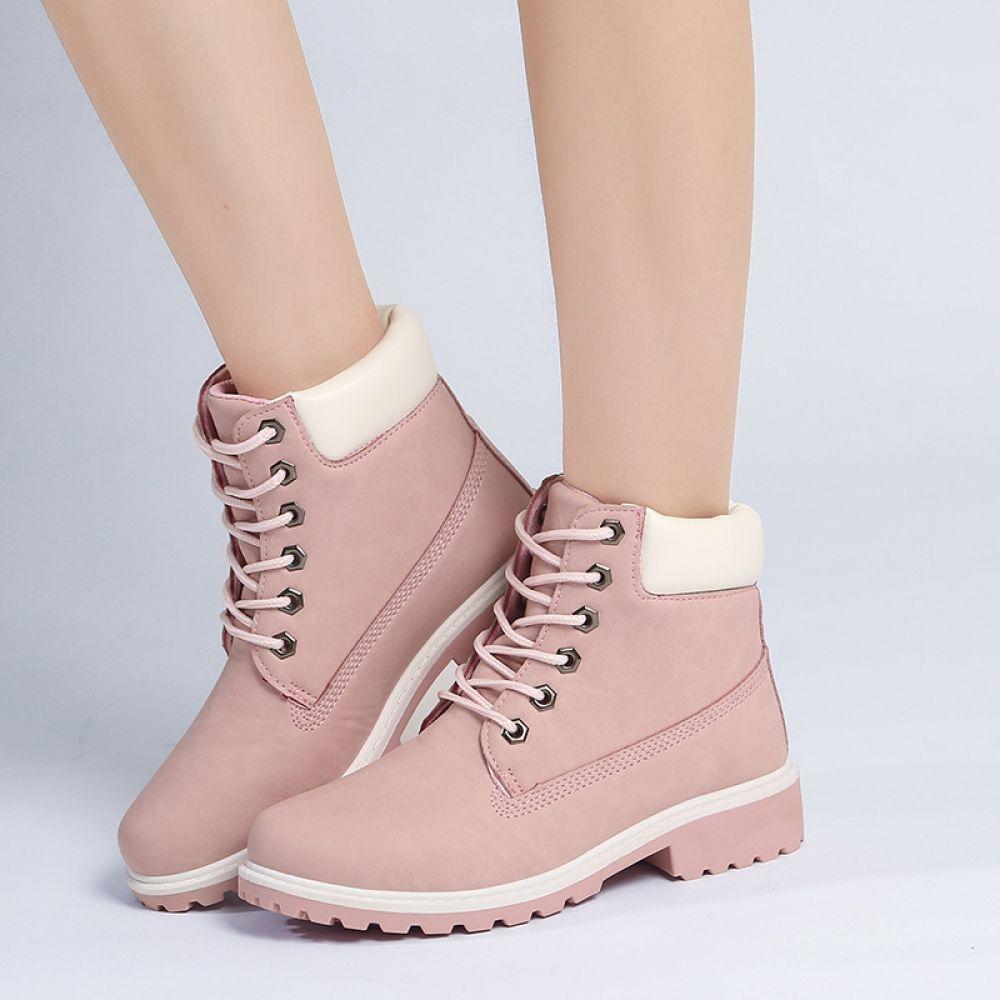women, Boots, Flat heel boots