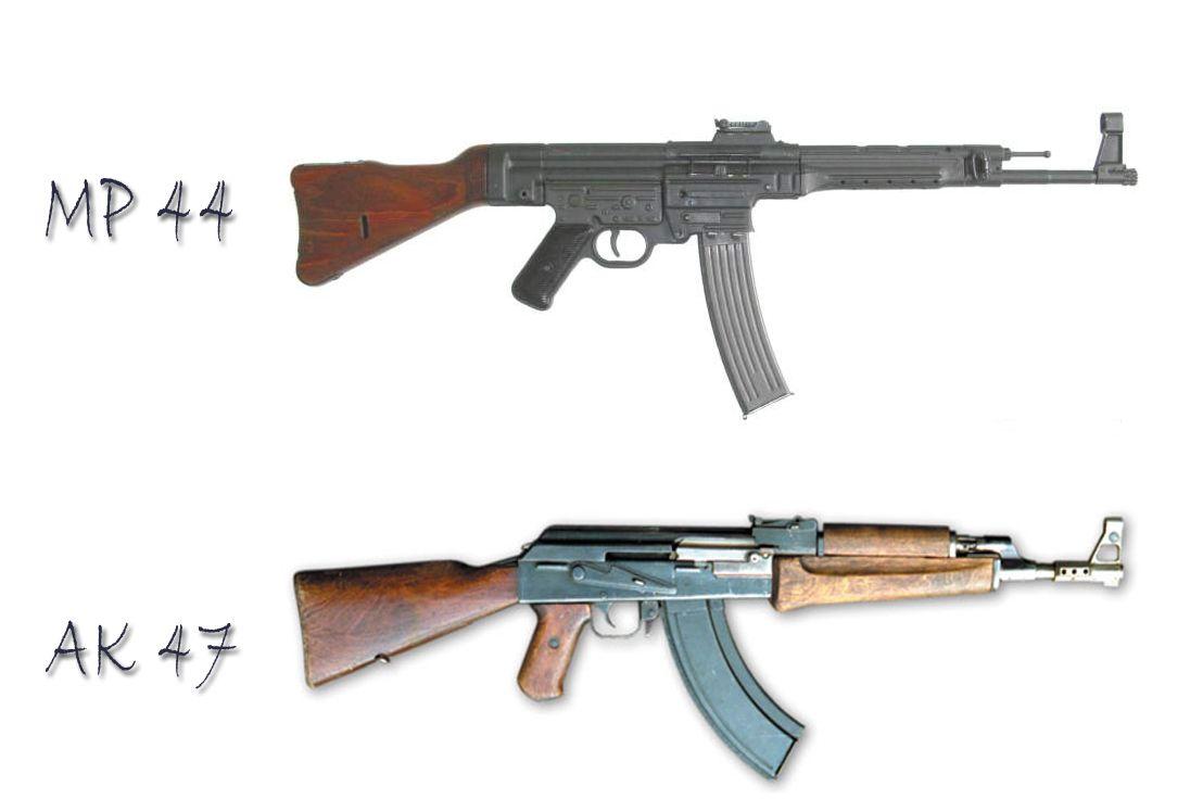 MP 44 - AK 47  Made by Frank Kafka
