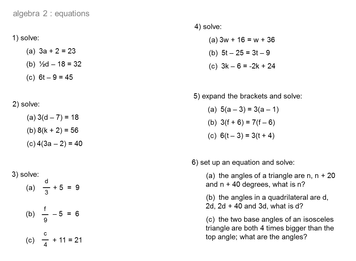 Median Practice And Quiz Questions