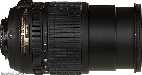 Nikon Dx Af S Nikkor 18 105mm F3 5 5 6g Ed