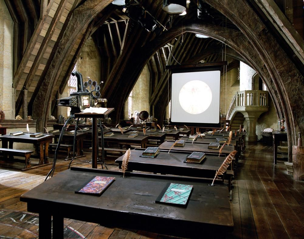 Professor Lupin S Defence Against The Dark Arts Classroom