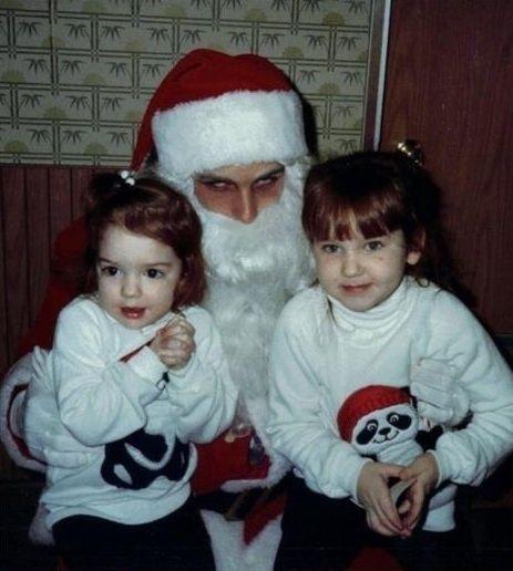 Creepy Santa Santa Claus Photos Creepy Halloween Costumes Creepy Christmas