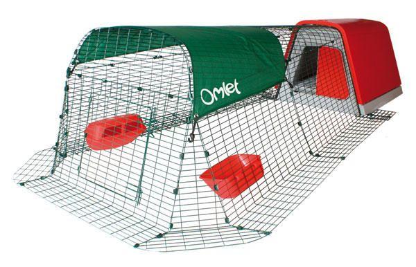 The Eglu Go Chicken Coop With 2 Metre Fox Proof Run