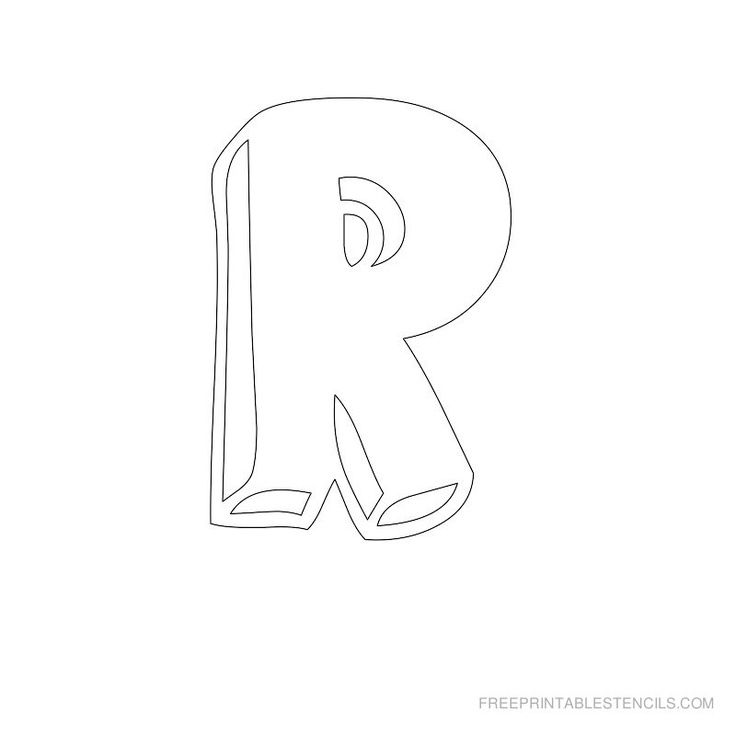 free printable letter stencils | Free Printable Alphabet Stencils ...