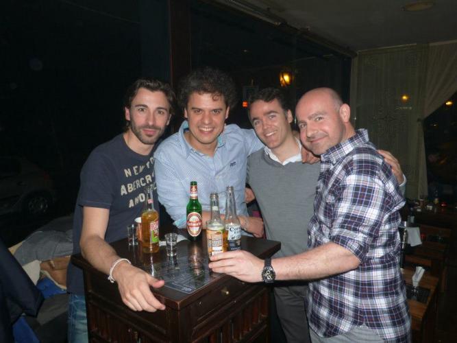 Guys Enjoying Stag Party In Zagreb Stagdo Stag Party Zagreb Stag Do