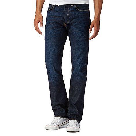 f56899e56f Levi s 501® blue lane dark blue raw wash straight leg jeans- at Debenhams  Mobile £85