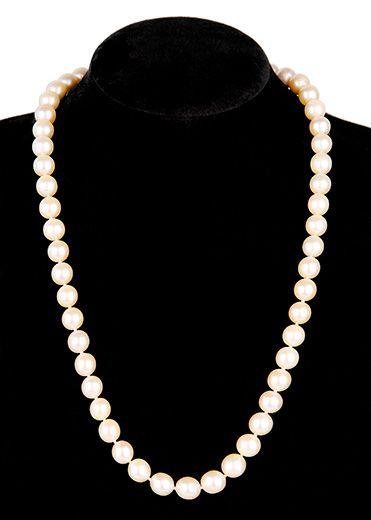 383801713a1c Collar de perlas cultivadas japonesas
