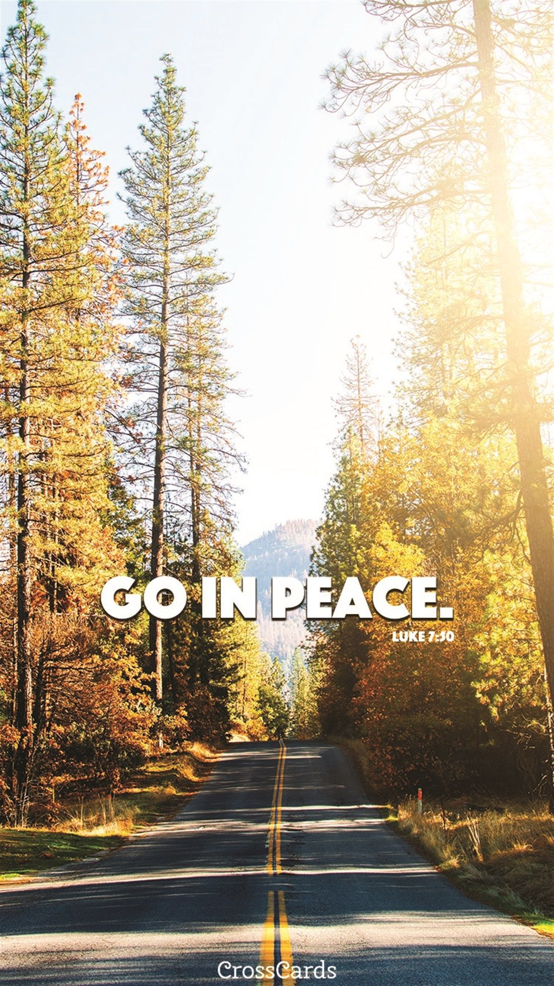 Go in Peace Online greeting cards, Christian ecards