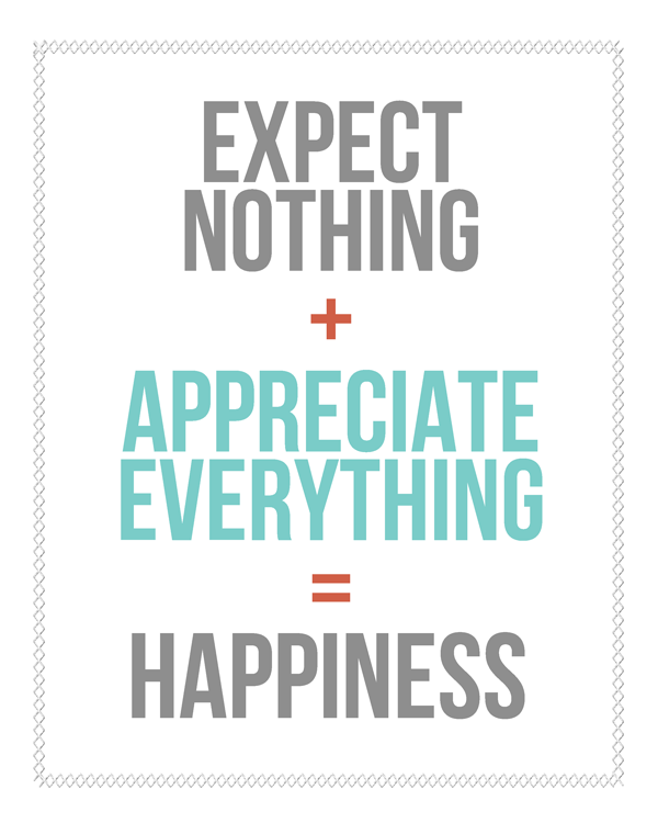 Sunday Encouragement: Expectations from landeelu.com