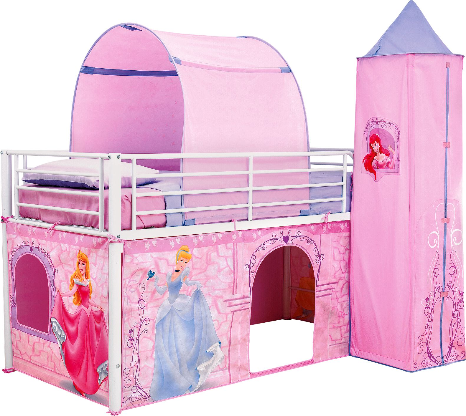 Pretty princess high sleeper playhouse bed - Your Little One Will Love Our Kids Room Ideas Featuring Favourite Brands Like Disney Princess Batman Shop Kids Bedding Furniture More At Toys R Us