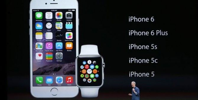 Apple lifts curtain on iPhone 6, Apple Watch